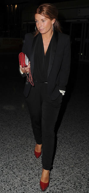 Coleen Rooney arrives at the Phones 4 U Arena Manchester to watch Michael Buble in concert. 4 March 2014