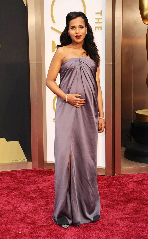 Kerry Washington, 86th Annual Academy Awards Oscars, Arrivals, Los Angeles, America - 02 Mar 2014