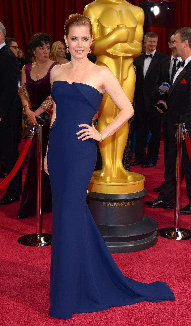 Amy Adams, 86th Annual Academy Awards Oscars, Arrivals, Los Angeles, America - 02 Mar 2014