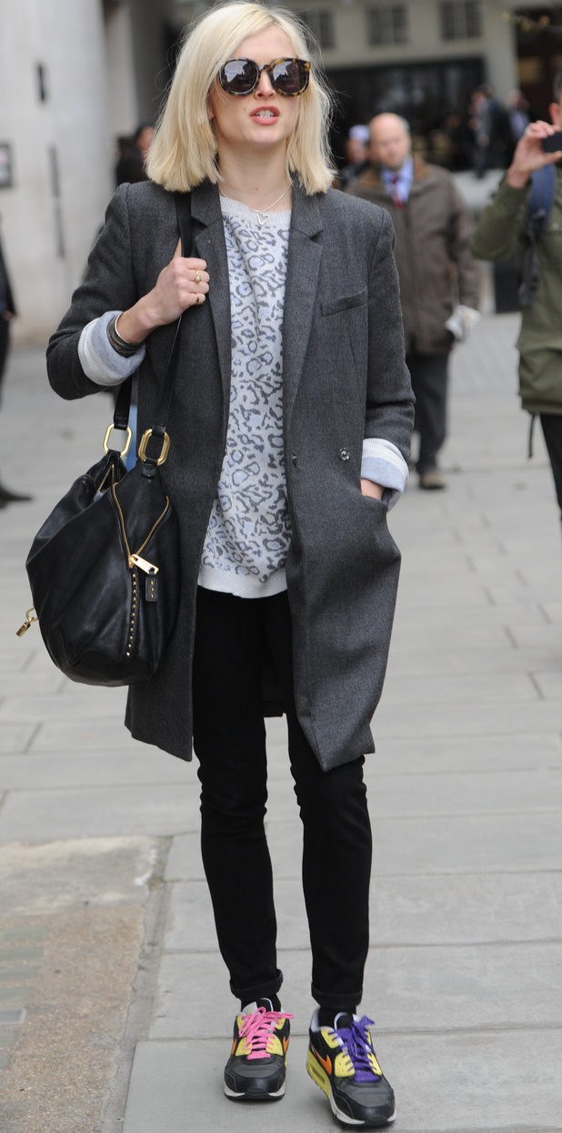 Fearne Cotton leaving Radio One Studios  - 04 Mar 2014
