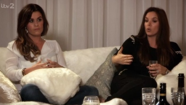 Jodi Albert and Anika from Girl Thing on The Big Reunion: 6 March 2014