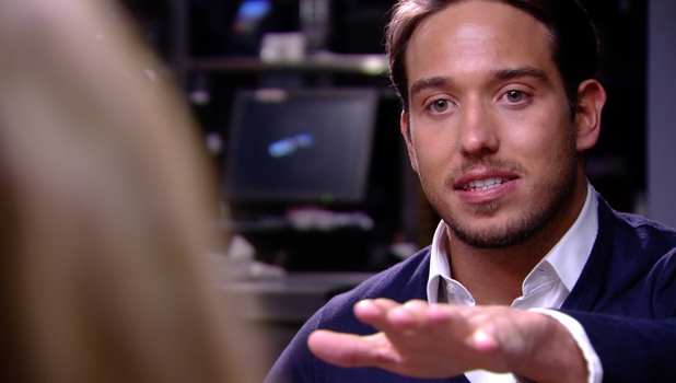James Lock in dramatic showdown with Danielle Armstrong in TOWIE, 9 March 2014