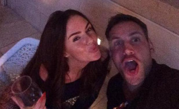 Jennifer Metcalfe and Greg Lake in Dubai - 7 March 2014
