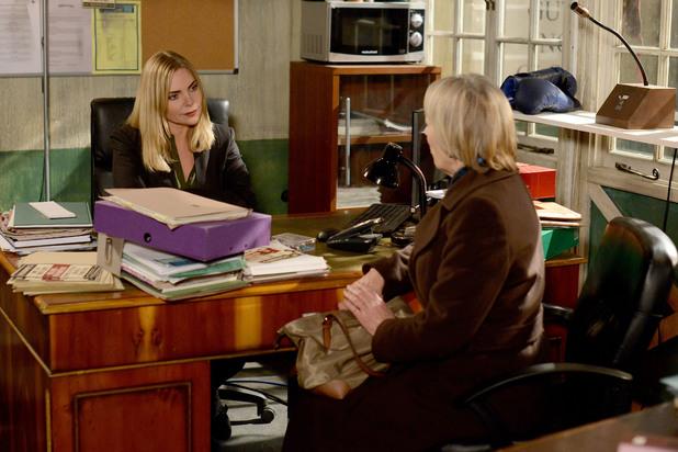 EastEnders, Nora visits Ronnie, Mon 10 Mar