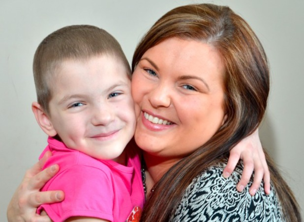 Julia Brown, daughter was diagnosed with ovarian cancer at seven