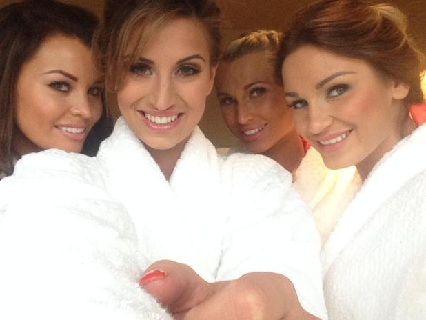 Jess Wright, Sam Faiers and Billie Faiers enjoy a TOWIE spa day - 2 March 2014