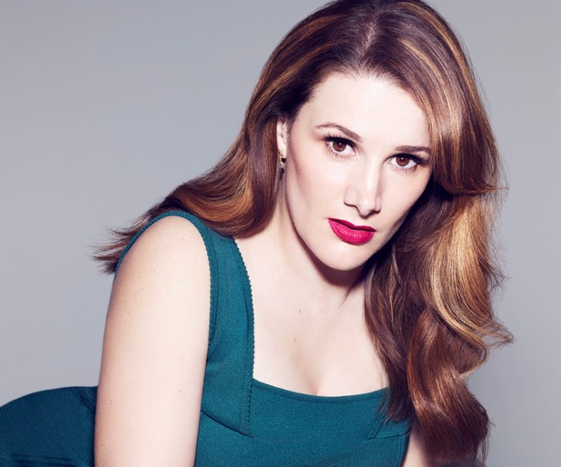 Promo shot of X Factor winner Sam Bailey (5 March 2014).