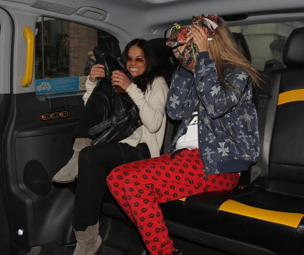 Cara Delevingne and Michelle Rodriguez Out and About in London, Britain - 06 Mar 2014