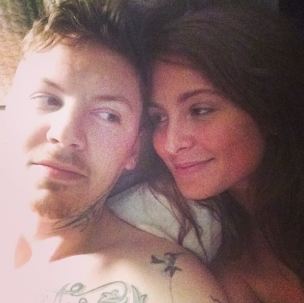 Millie Mackintosh and Professor Green in bed