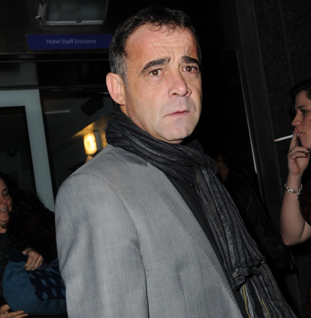 Michael Le Vell at the Coronation Street Christmas Party - 13 Dec 2014