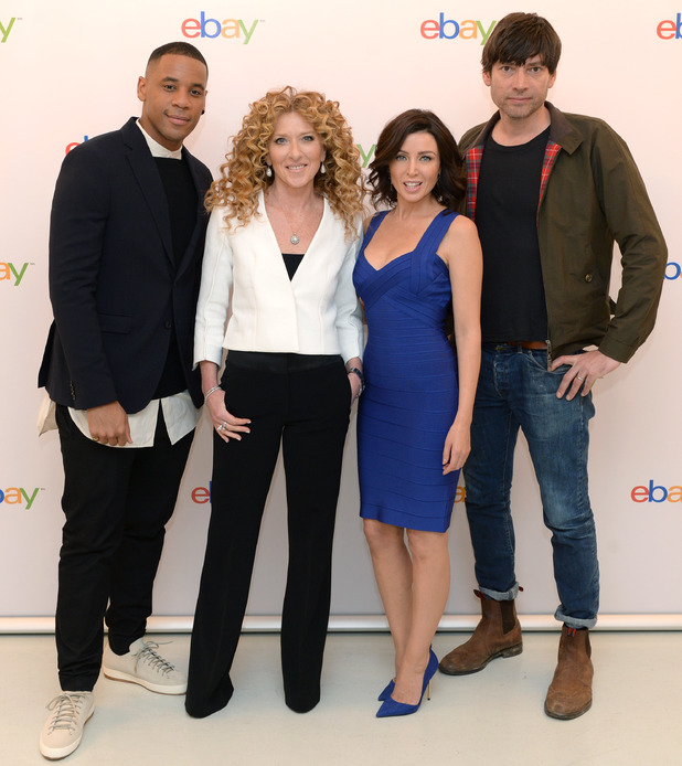 Dannii Minogue, Reggie Yates, Alex James and Kelly Hoppen MBE at the launch of the eBay Collections in London - 6 March 2014