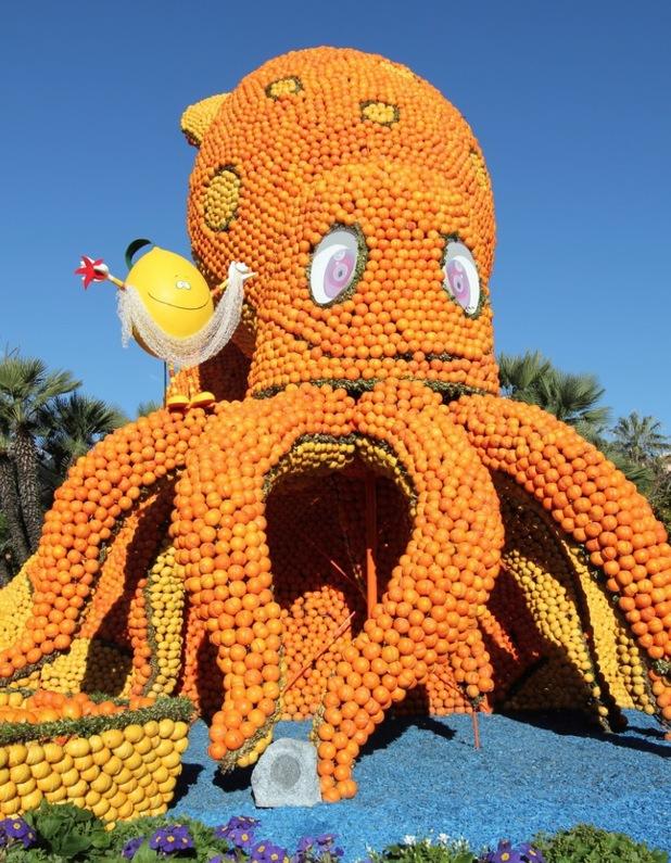 Octopus at Fête du Citron