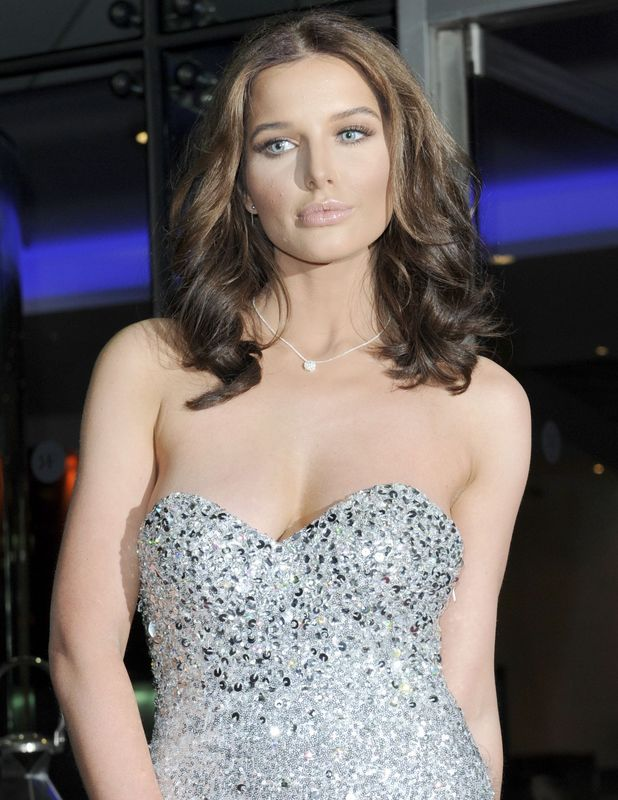 Helen Flanagan attends The Mirror Ball 2014 held at Lowry Hotel, 7 March 2014