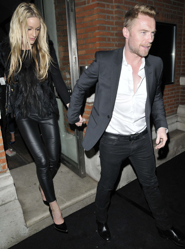Ronan Keating and Storm Uechtritz Symphonica' photographic exhibition of George Michael at Hamiltons Gallery, London, Britain - 04 Mar 2014