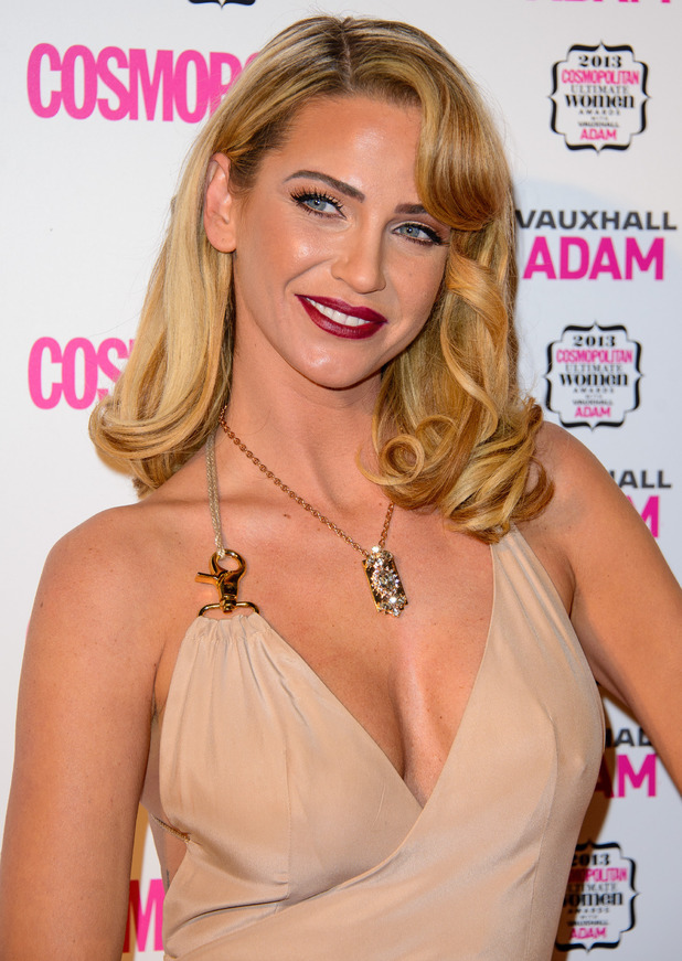 Cosmopolitan Ultimate Women of the Year Awards Sarah Harding 12/05/2013