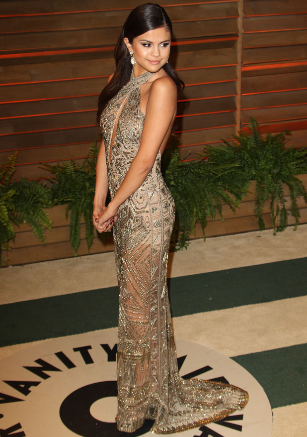 Selena Gomez at 2014 Vanity Fair Oscar Party in West Hollywood - 3 March 2014