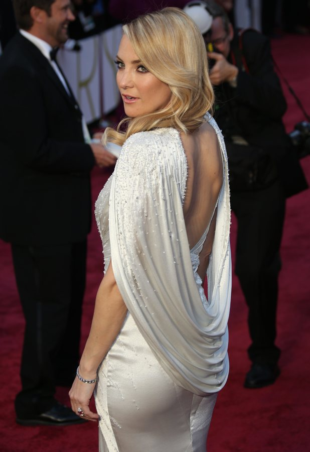 Kate Hudson attends the 86th Annual Academy Awards Oscars in Los Angeles, America - 2 March 2014