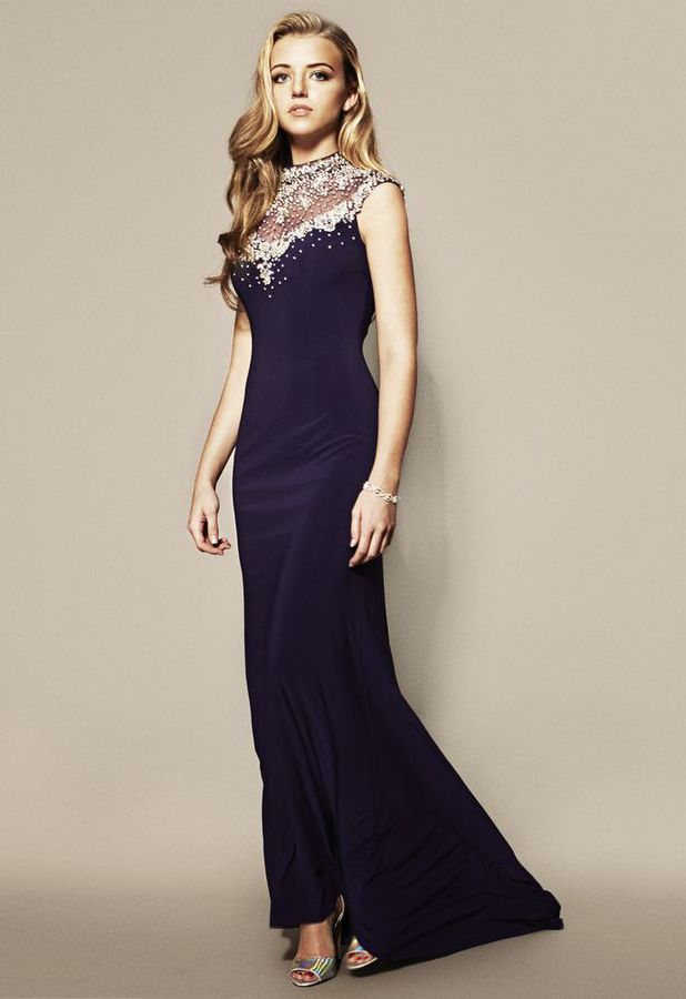 Lydia Mecklenburgh models the new Lucy's Boutique Prom Dress Collection - March 2014