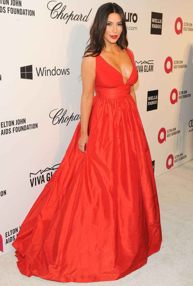 Kim Kardashian: Elton John Aids Foundation presents 22nd Annual Academy Awards viewing party - Arrivals - 2 March 2014