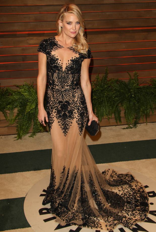 Kate Hudson attends the 86th Annual Academy Awards Oscars Vanity Fair Party in Los Angeles, America - 2 March 2014