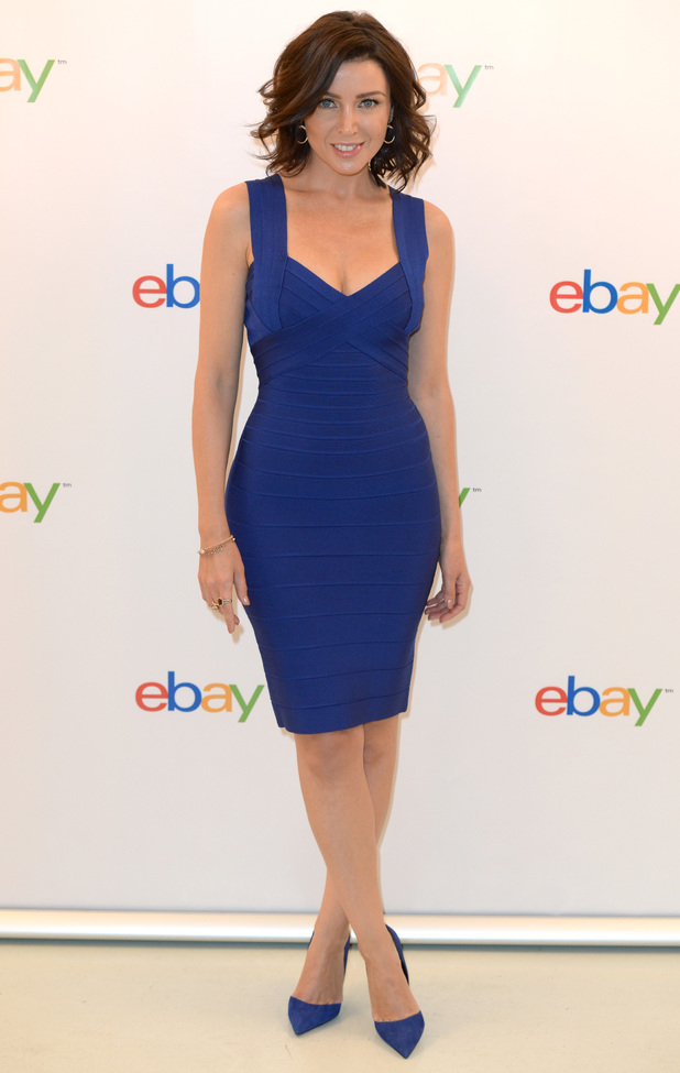 Dannii Minogue steps out at the launch of the eBay Collections in London - 6 March 2014