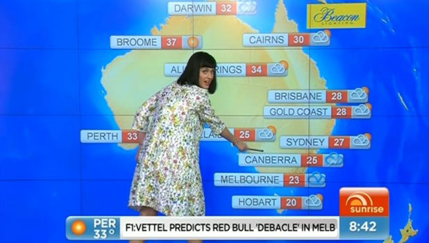 Pictures of Weather Reports Weather Report on Sunrise