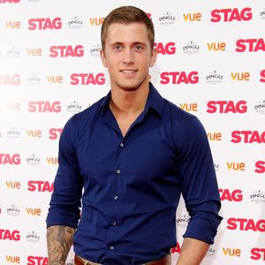 TOWIE's Dan Osborne at the Gala screening of 'The Stag' at the Vue Leicester Square - 13 Mar 2014
