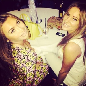 Lauren Goodger at Dancing On Ice's wrap party (9 March 2014).