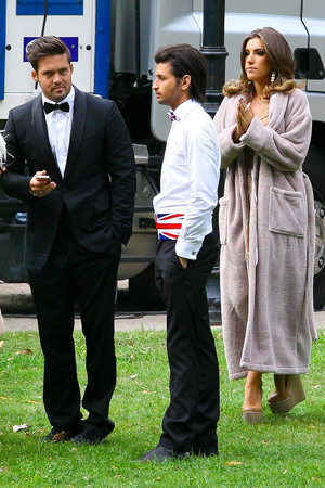 The cast of 'Made In Chelsea' take part in a photoshoot in Battersea Park 17.09.12