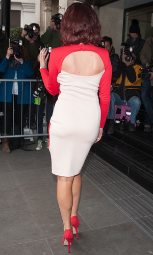 Amy Childs at The 2014 Tric Awards held at The Grosvenor House - Arrivals - 11 March 2014