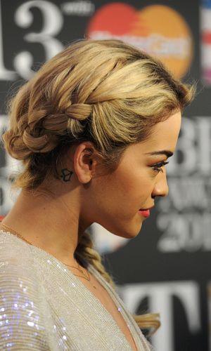 Rita Ora, Brit Awards nominations, The Savoy, London, Britain - 10 Jan 2013