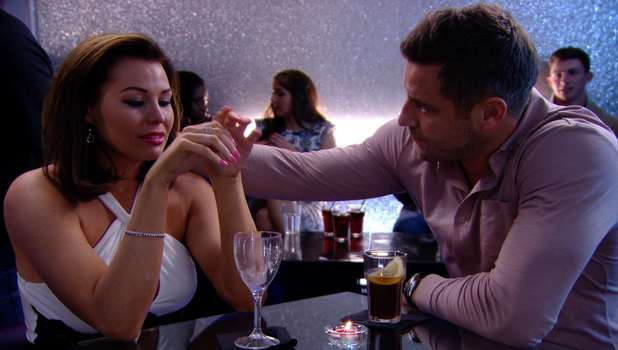 Jess Wright cries remembering Ricky Rayment's infidelity in TOWIE, Sunday 16 March 2014