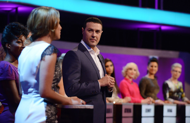 Take Me Out's Paddy McGuinness. Aired: Saturday 8th February 2014, Episode 6.