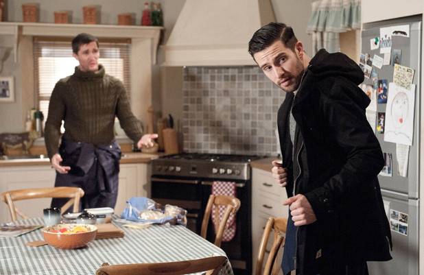 Emmerdale, Ross blackmails Pete, Wed 12 Mar