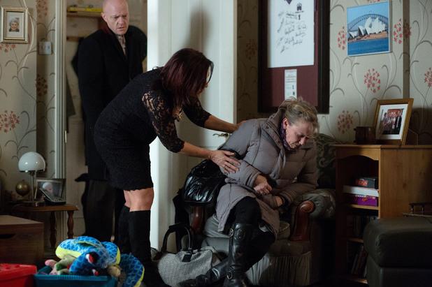 EastEnders, Carol collapses, Fri 14 Mar