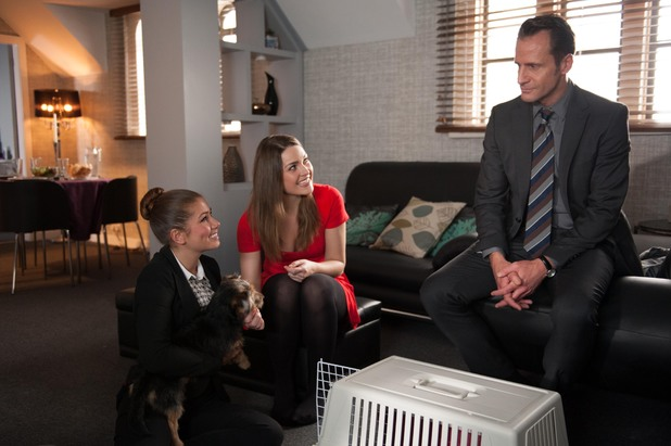 Hollyoaks, Patrick buys Maxine a dog, Wed 12 Mar