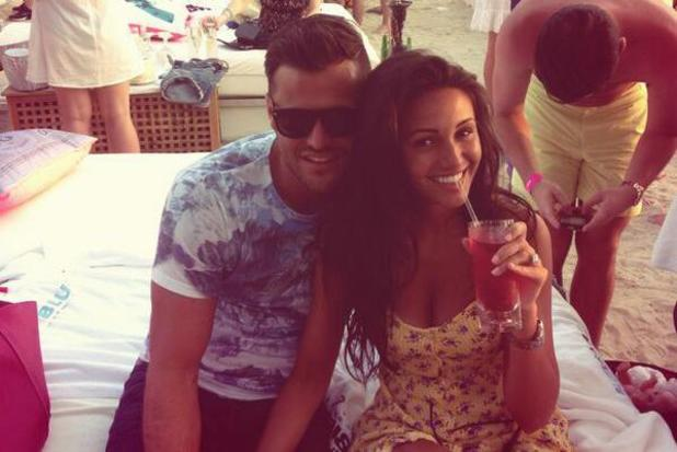 Mark Wright and Michelle Keegan in Dubai - 10 March 2014