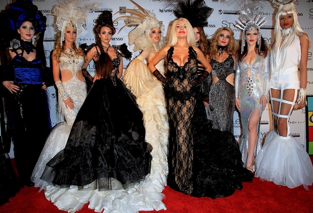 Courtney Stodden at Style Fashion Week 2014 at L.A. Live. 03/13/2014. Downtown Los Angeles, California, United States