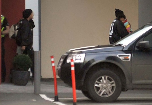 Beyonce and husband Jay Z, carrying daughter Blue Ivy, arrive at Dublin Airport - 8.3.2014