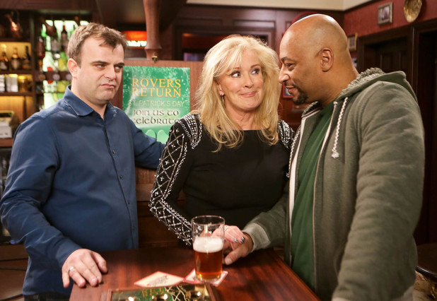 Corrie, Steve's irked with Tony, Wed 12 Mar