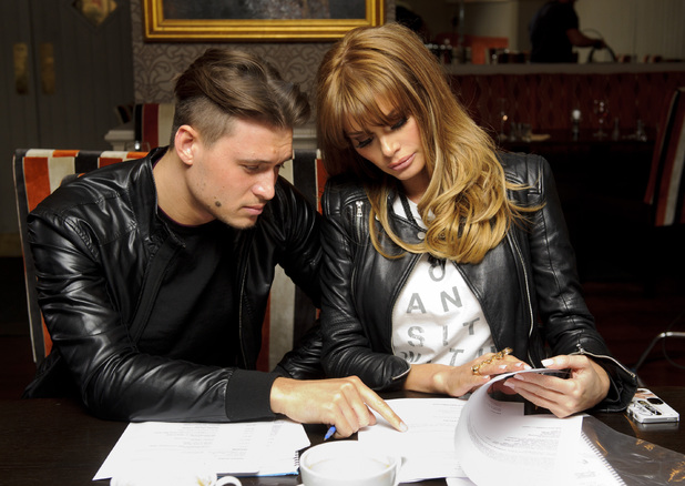 'The Only Way Is Essex' TV series recording stills, Brentwood, Essex, Britain - 12 Mar 2014 Charlie Sims and Chloe Sims