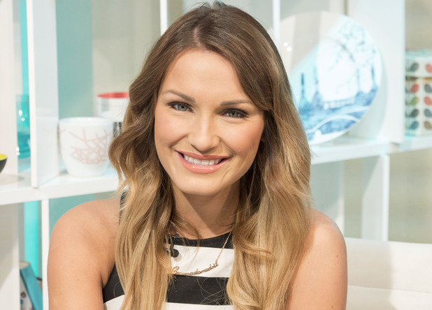 Sam Faiers  on 'This Morning'