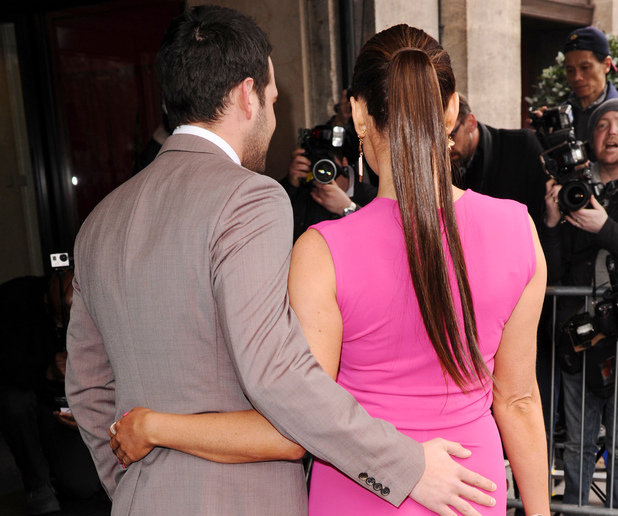 TRIC Awards, London, Britain - 11 Mar 2014 Ricky Rayment and Jessica Wright