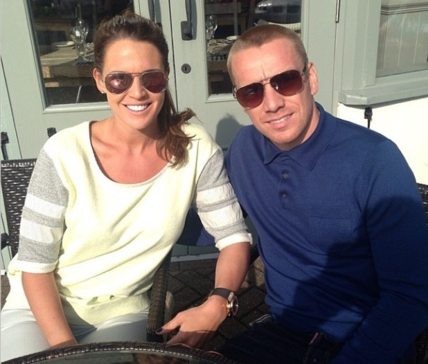 Danielle Lloyd and Jamie O'Hara pose for new picture amid marriage woes = 14 March 2014