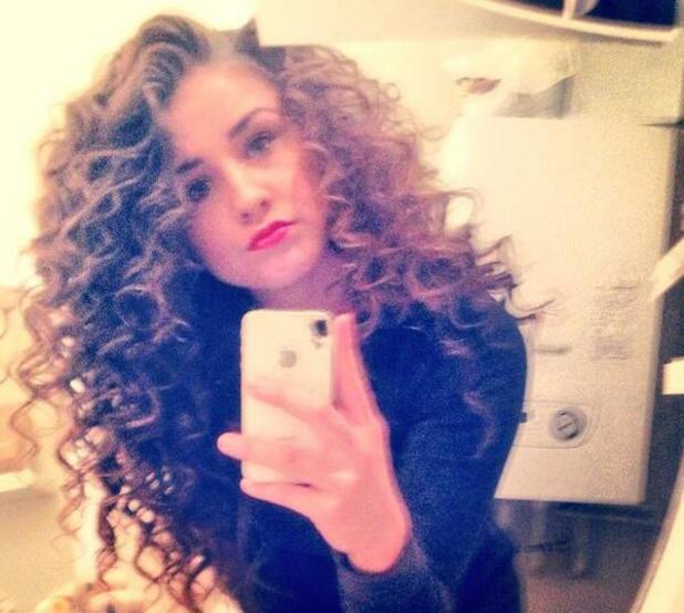 Brooke Vincent posts photo of new curly hairstyle - 8.3.2014