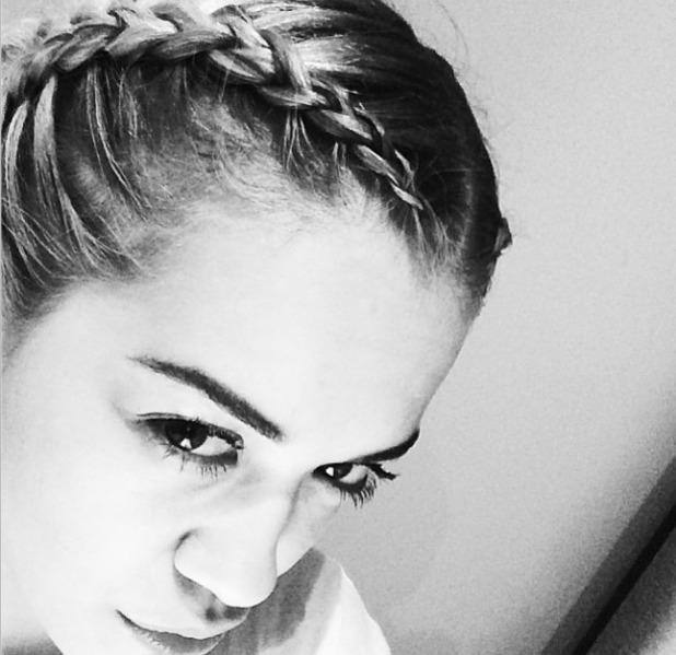 Rita Ora shows off her braids, Instagram, 10 March 2014