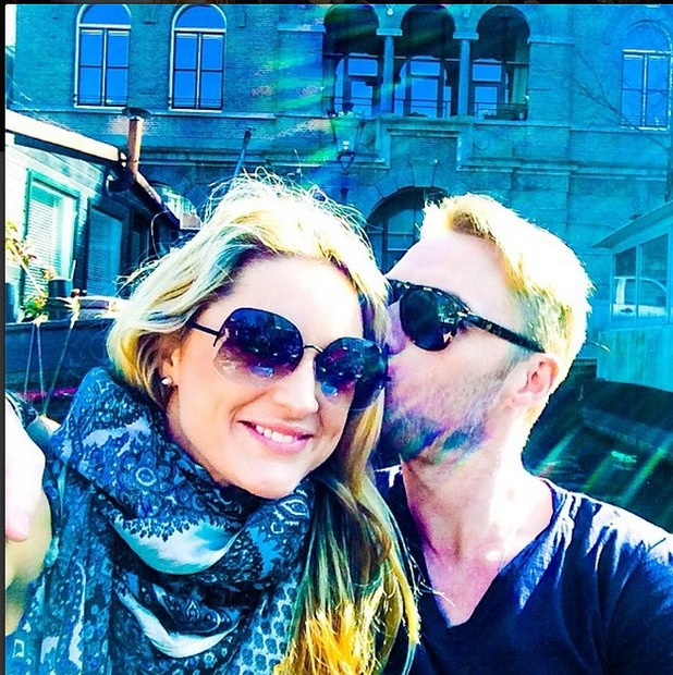 Storm Uechtritz posts pic of her and Ronan Keating kiss on holiday in Amsterdam 10/03/14