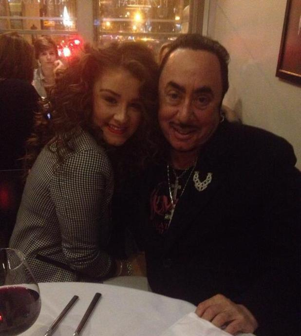 Brooke Vincent posts photo of new curly hairstyle with David Gest - 8.3.2014