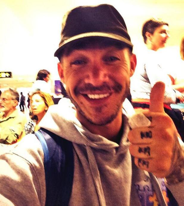 Kirk Norcross prepares to fly home following his charity trek in Peru - 12 March 2014