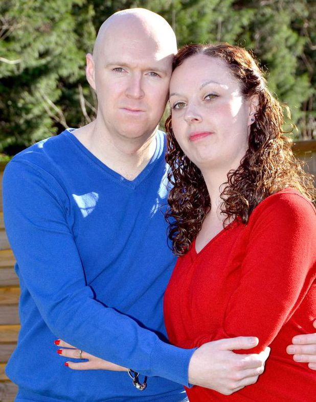 Emma and Ian Grandison - diagnosed with terminal cancer while pregnant